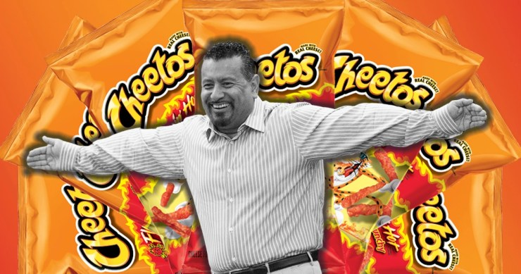 Flamin Hot Cheetos Maker Inventor