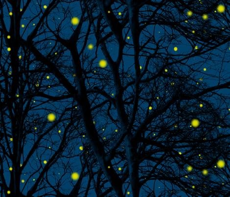 Fireflies tree