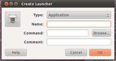 Remove question mark and add your own icon to the ubuntu 11.04 natty narwhal unity launcher (1/4)
