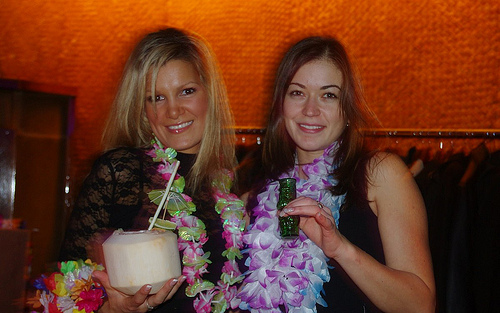 Ashlee & Anastasia, Waldorf hostesses