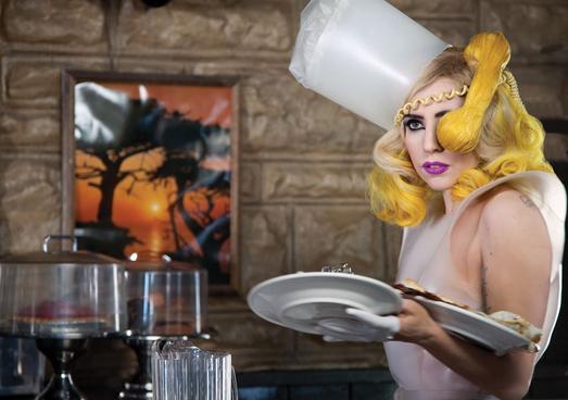 Lady Gaga just threw something together