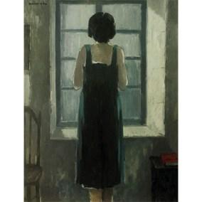 Mujer en la ventana  </br>1972