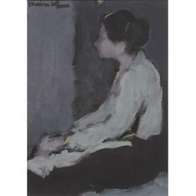 Mujer sentada  </br>1972