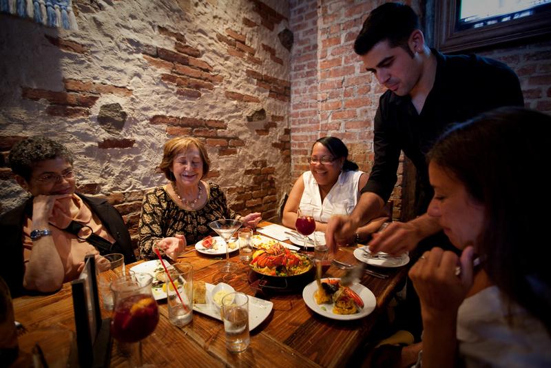Sangria Tapas Bar Restaurant Menu