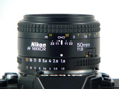 Le AF Nikkor 50mm f/1.8 est épatant !