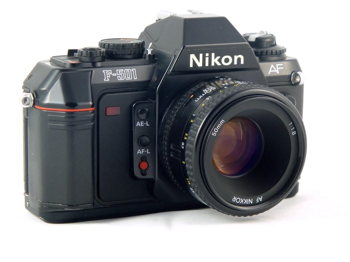 A Camera – The Nikon F-501 AF