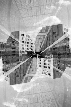 Paris - Ilford FP4 - Double exposure