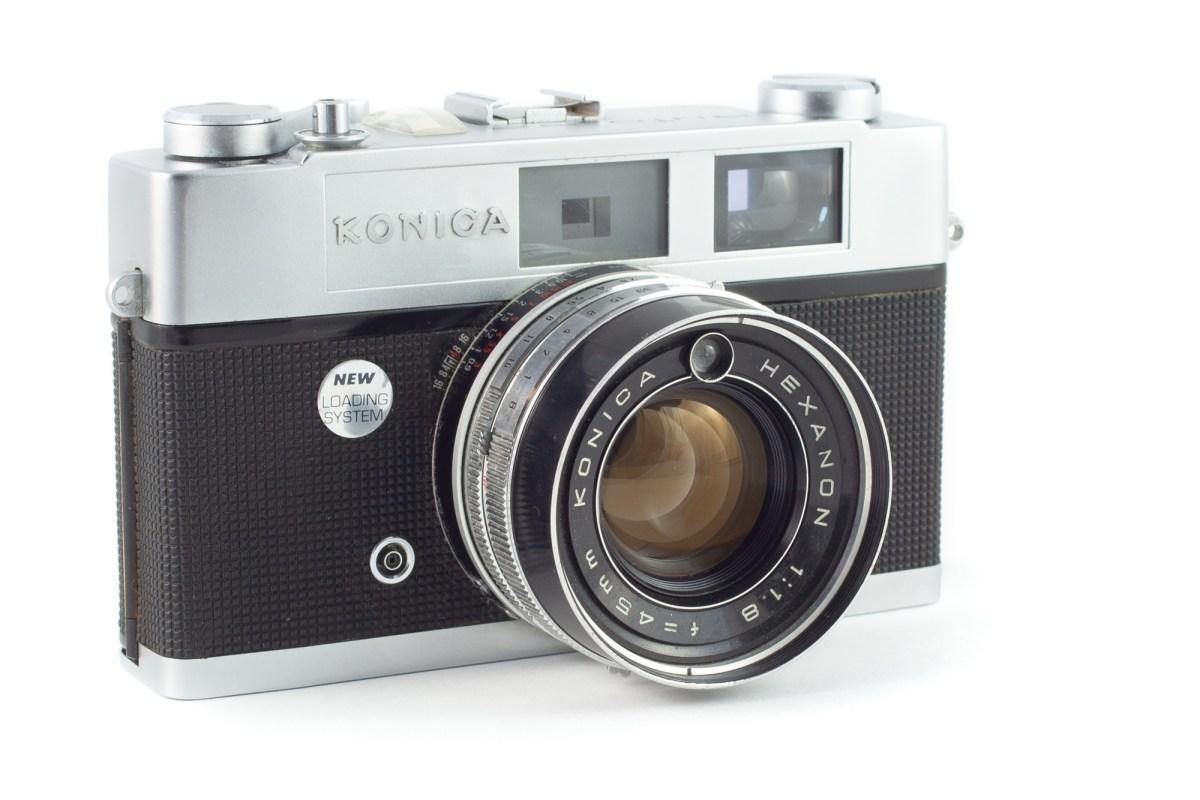 A Camera – the Konica Auto S2