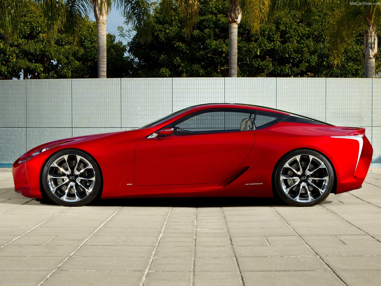 2012 Lexus LF-LC Concept | Man On Fire Design