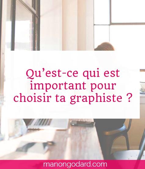 """""""Comment choisir ta graphiste"""" par Manon Godard"""
