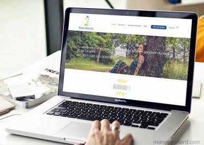 Identité visuelle et site de Manon Woodstock
