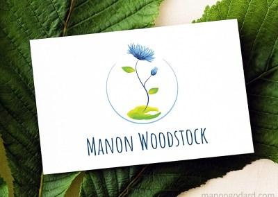 Identité visuelle de Manon Woodstock, coach en écologie
