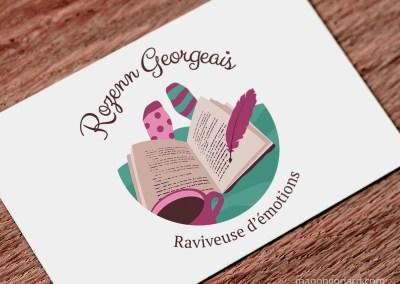 Identité visuelle de Rozenn Georgeais