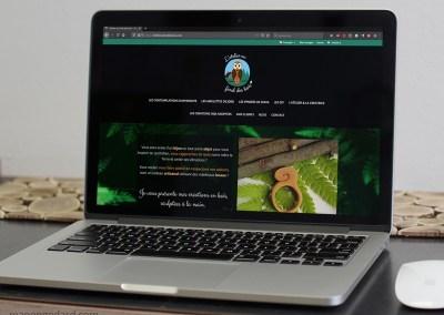 Boutique en ligne 'L'atelier au fond des bois'