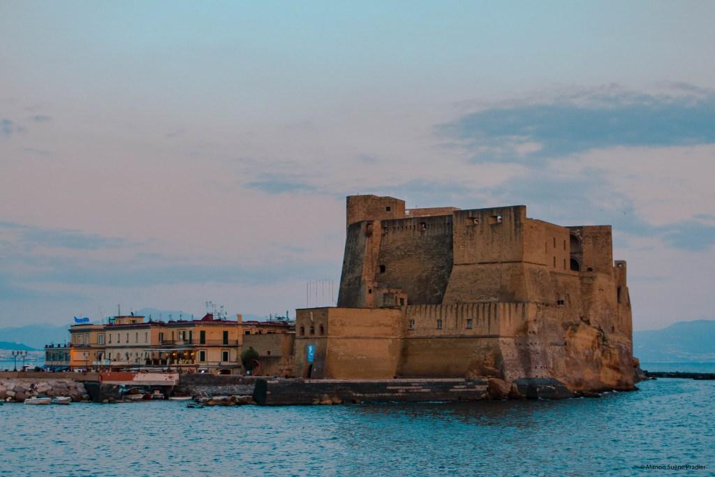 Castel Dell'ovo Port Borgo Marinari Naples