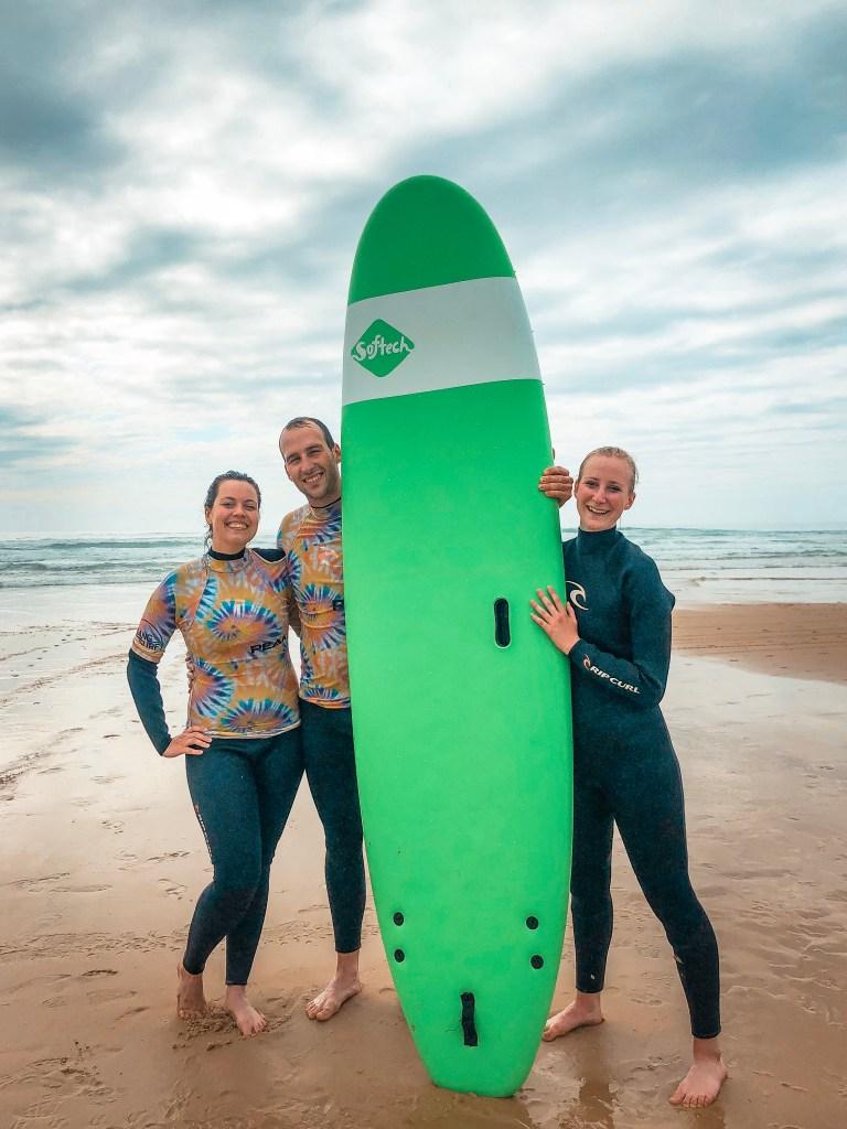 road trip dans les landes biscarrosse gang surf manon suène pradier
