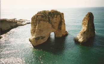 Travel Photo of the Week -- Pigeon`s Rock, Beirut, Lebanon