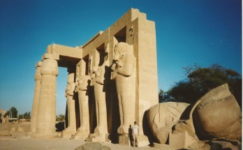 Travel Photo of the Week -- The Head of Ramses II, Luxor Egypt