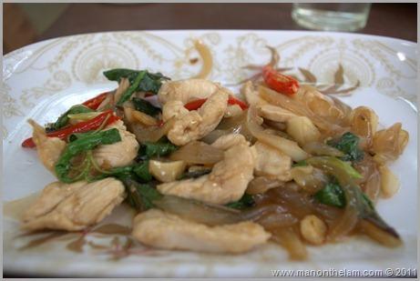 Thai Stir Fry, Thai Cooking Class, Pai Thailand