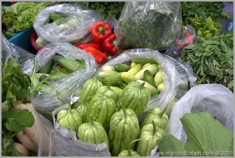 Vegetables, Food Market, Pai Thailand