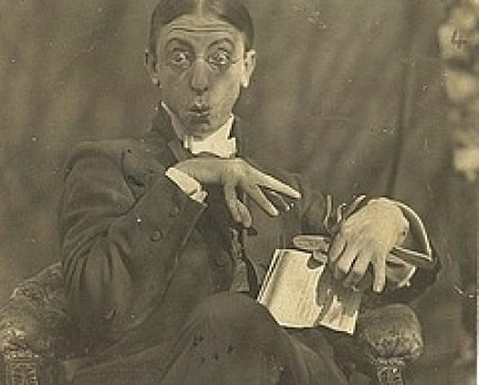 C.J. Denis, Poet with funny face