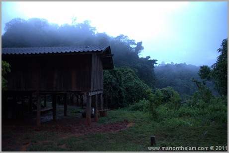 Hill Tribe Village, Hill Trek, Northern Thailand