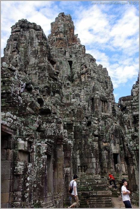 Temple Faces of Avalokeshvara, Bayon, Angkor