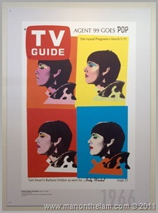 Agent 99 Get Smart TV Guide cover poster, , San Francisco airport museum