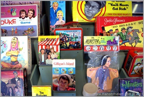 children's TV games and toys from the 50's and 60's