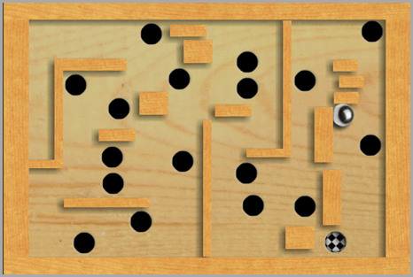 labyrinth lite rolling ball game android iphone