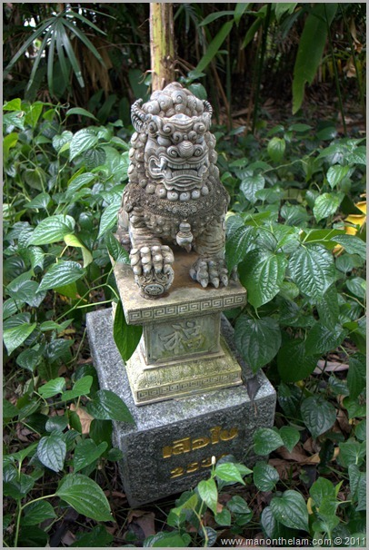 LocalGguiding.com Follow Me Bike Tour dog grave marker pet cemetary Bangkok