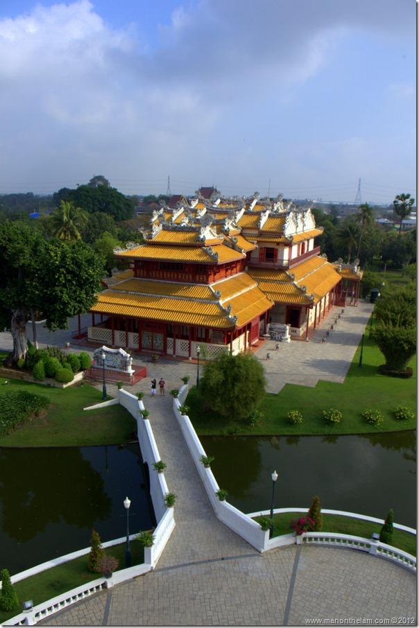Phra Thinang Wehart Chamrun, Ba-in Palace, Ayutthata, Thailand 2