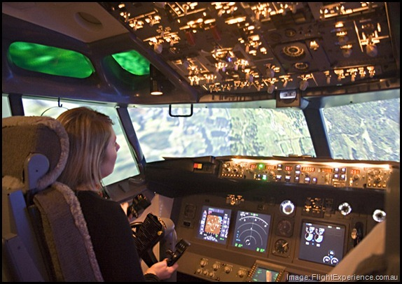 Flight Experience Cockpit Simulator Quirky Things to Do Brisbane Australia