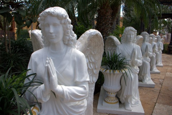 Angel statues, The Holy Land Experience, Orlando, Florida