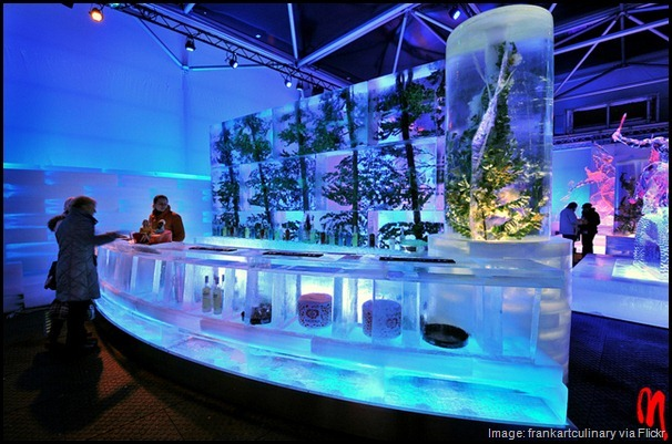 Ice Bar in Barcelona Spain