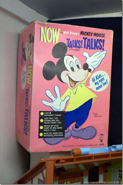vintage talking Mickey Mouse