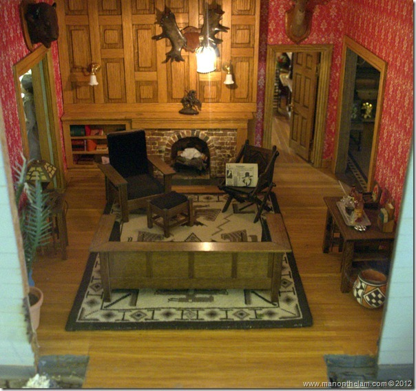 hunting lodge dollhouse den