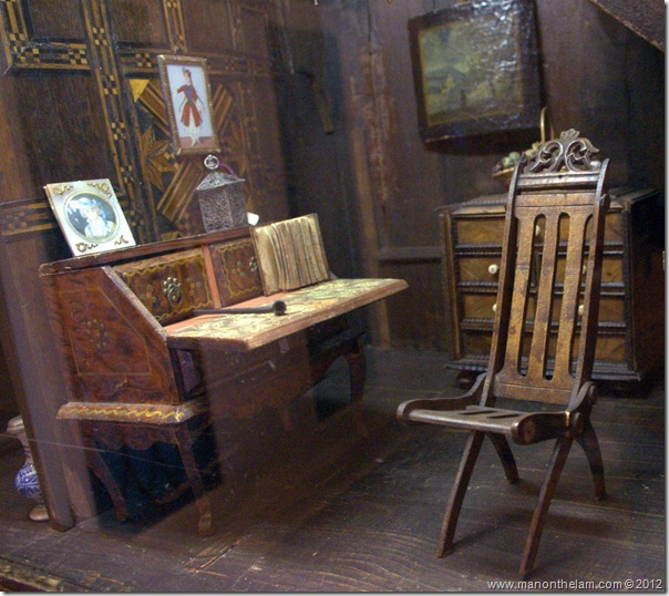 French Chateau dollhouse