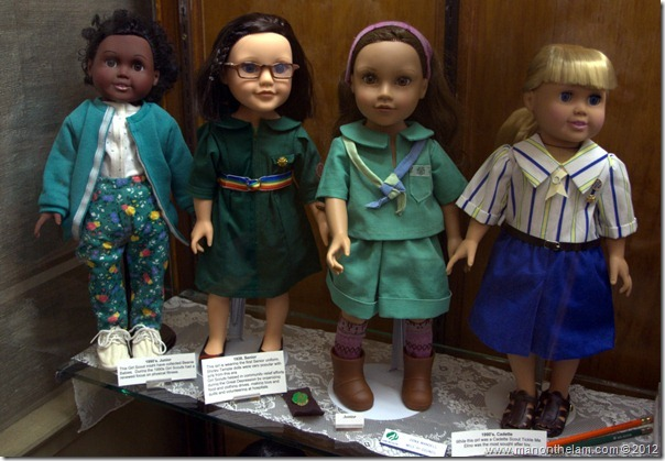 Girl Scouts Dolls -- Denver Museum of Miniatures, Dolls and Toys, Denver, Colorado