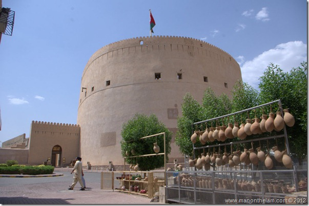 Exterior of Nizwa Fort, Nizwa Oman