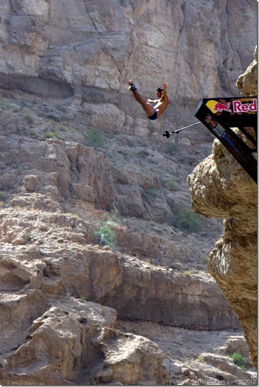 Red Bull Cliff Diving World Series 2012, Wadi Shab, Oman 034