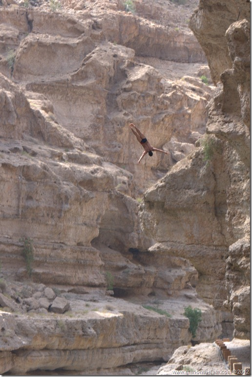 Red Bull Cliff Diving World Series 2012, Wadi Shab, Oman 043