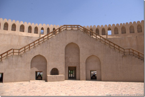 Top of Nizwa Fort, Nizwa, Oman