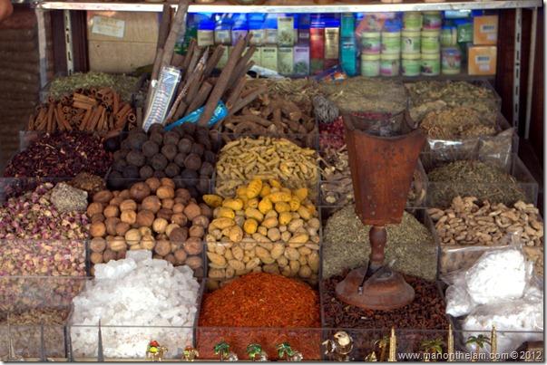 Spices at souq, Dubai, United Arab Emirates