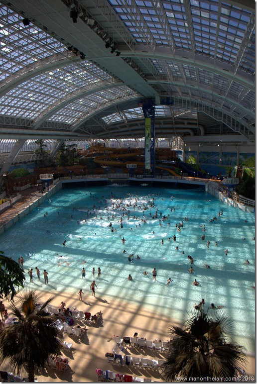 West Edmonton Mall waterpark, Edmonton, Alberta CANADA 2