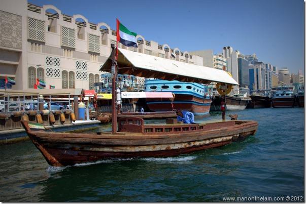 water taxi, Bur Dubai, UAE