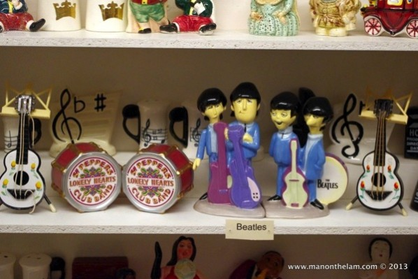 Beatles-salt-and-pepper-shakers-Museum-of-Salt-and-Pepper-Shakers-Guadalest-Spain