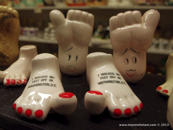 Feet Salt and Pepper Shakers