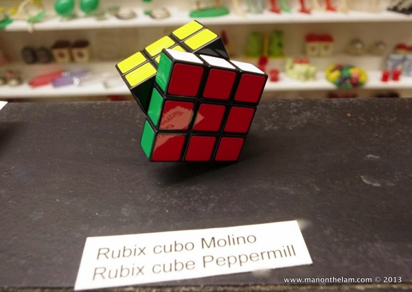 Rubix cube Museum of Salt and Pepper Shakers Guadalest Spain