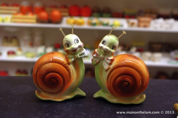 Snails Museum of Salt and Pepper Shakers